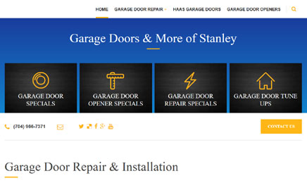 Garage Doors and More of Stanley